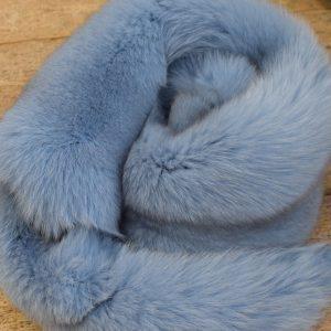 Хутро норки, блакитне