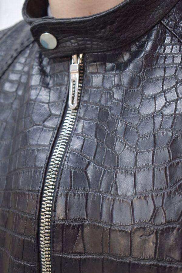 Куртка чоловіча, крокодил, АРТ: 0076