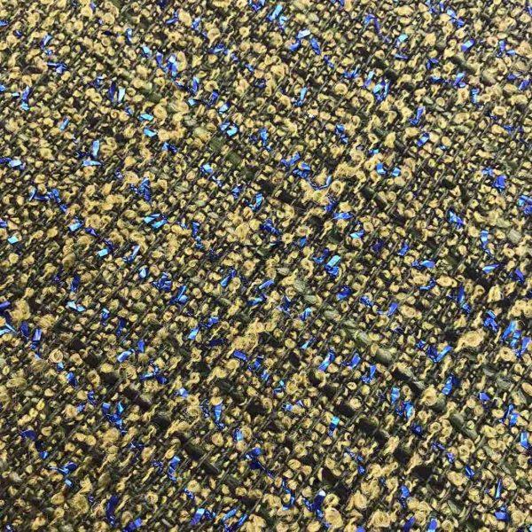 Вовна + Шовк + інкрустація синім блиском, CHANEL, АРТ: 0067